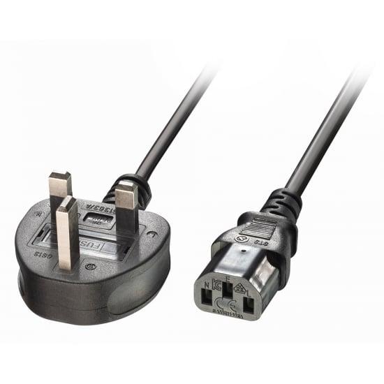 Lindy 30430 power cable Black 0.2 m C13 coupler