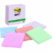 POST-IT 675-6SSNRP SUPER STICKY NOTES RECYCLED 98 X 98MM BALI COLOURS PACK 6