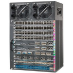 Cisco WS-C4510R+E= 14U Black network equipment chassis
