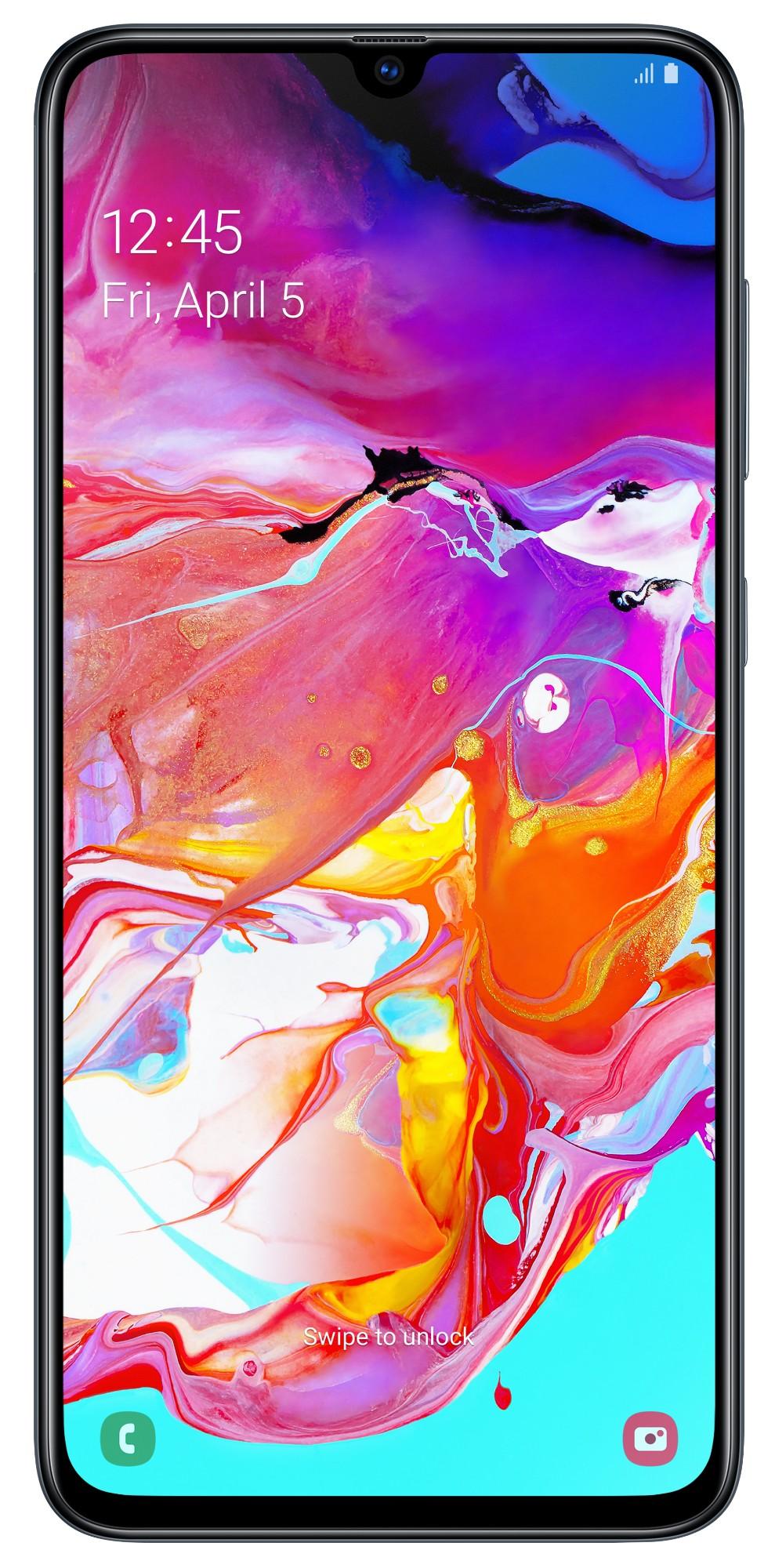 Galaxy A70 A705 - Dual Sim - Black - 128GB - 6.7in