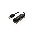 iogear GFR309 USB 3.0 Black card reader