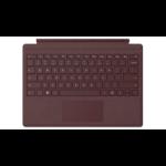 Microsoft Surface Pro Signature Type Cover teclado para móvil Español Borgoña Microsoft Cover port