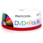 Memorex DVD+R 8.5GB DVD+R 25pc(s)