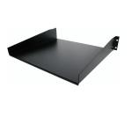 StarTech.com Standaard Universele Plank Serverrack Zwart
