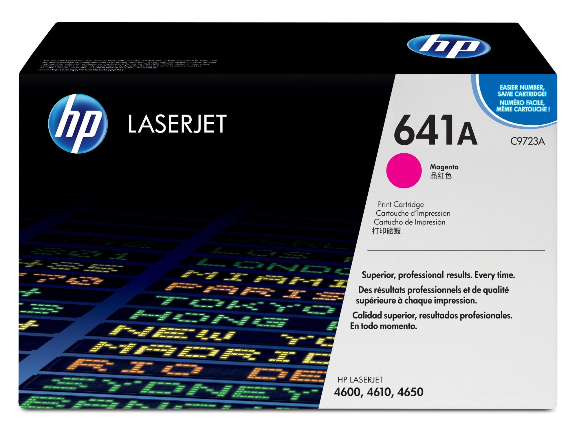 HP 641A Origineel Magenta 1 stuk(s)