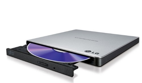 LG GP57ES40 DVD±RW Black,Silver optical disc drive