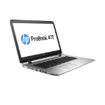 "HP ProBook 470 G3 2.3GHz i5-6200U 17.3"" 1600 x 900pixels Black,Silver Notebook"