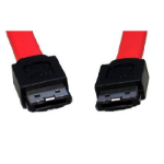 Cables Direct 1m eSATA SATA cable Red