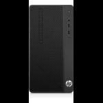 HP 290 G1 3.4GHz i5-7500 Micro Tower Black PC
