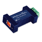 IMC Networks 485USBTB-2W-LS serial converter/repeater/isolator USB 2.0 RS-485 Blue