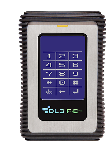 DataLocker DL3 FE 2000GB Black,Metallic external hard drive