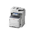 OKI MB770dn A4 Mono Multifunction, 52ppm mono print speed, 1200 x 1200dpi print resolution, 2GB memory, 3 year warranty