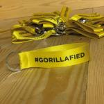 Gorilla Gaming #GORILLAFIED KEYRING TAG