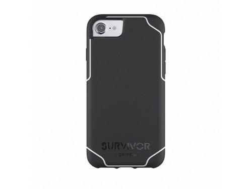 "Griffin Survivor Journey mobile phone case 11.9 cm (4.7"") Cover Black,White"