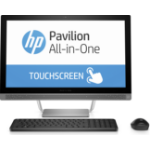 """HP Pavilion 24-b009 2.2GHz i5-6400T 23.8"""" 1920 x 1080pixels Touchscreen Silver All-in-One PC"""
