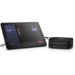 HP Elite Slice G2 7th gen Intel® Core™ i5 i5-7500T 8 GB DDR4-SDRAM 128 GB SSD USFF Black PC Windows 10 IoT Enterprise LTSB