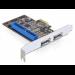 DeLOCK PCI Express Card/eSATA/IDE Internal eSATA,IDE/ATA interface cards/adapter