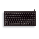 CHERRY Compact Keyboard, QWERTY, 83 keys, Combi USB/PS2, Black