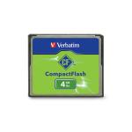 Verbatim CompactFlash 4GB Memory Card 4GB CompactFlash memory card