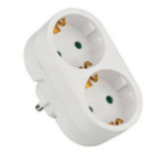 Microconnect GRUS1M2F socket-outlet White