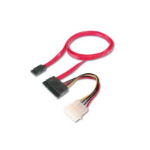 Digitus AK-400112-005-R 0.5m SATA 22-pin Red SATA cable