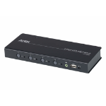 Aten CS724KM KVM switch Black