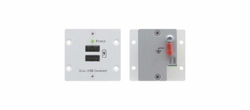 Kramer Electronics W-2UC(B) wall plate/switch cover Black