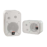 JBL CONTROL® SERIES 1 Pro White 1-way Wired 150 W