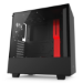 NZXT H500 Midi-Tower Black,Red