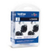 Brother LC-980BKBP2DR Ink cartridge black, 300 pages, Pack qty 2