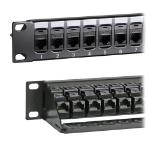 Cablenet 24 Port Cat5e UTP 1u Coupler Panel