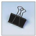 Unbranded Foldback Clip 25mm Black Pack 100