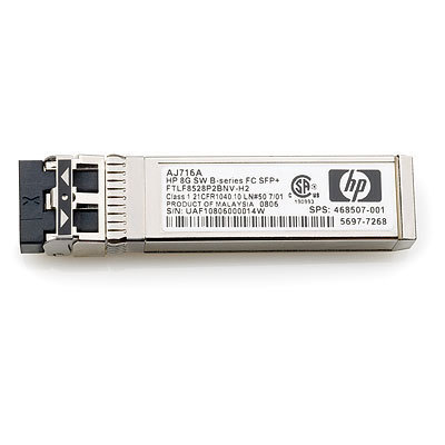 Transceiver 8GB Shortwave B-series Fibre Channel 1 Pack SFP+