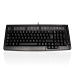 Accuratus S100B USB QWERTY UK English Black keyboard