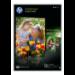 HP Q5451A Fotopapier Schwarz, Blau, Weiß Halb-Glanz A4