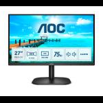 """AOC B2 27B2AM LED display 68.6 cm (27"""") 1920 x 1080 pixels Full HD Black"""
