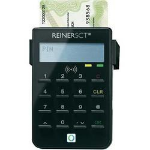 Reiner SCT cyberJack RFID standard smart card reader Black