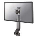 "Newstar Stylish Tilt/Turn/Rotate Desk Stand for 10-27"" Monitor Screen, Height Adjustable - Black"