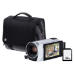 Canon Legria HF R806 Camcorder Kit including 32GB SD Card and Case - White
