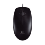 Logitech M100R mice USB Optical 1000 DPI Ambidextrous Black