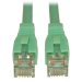 Tripp Lite Cat6a, 20ft 6.1m Cat6a U/UTP (UTP) Turquoise networking cable