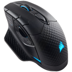 Corsair DARK CORE RGB mouse Bluetooth+USB Type-A Optical 16000 DPI Right-hand