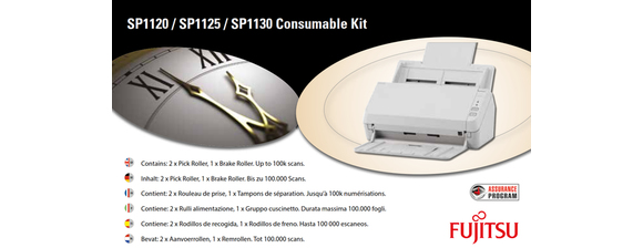 Fujitsu - Scanner roller kit - for SP 1120, 1125, 1130