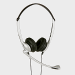 JPL JAC0021201-B Binaural Head-band Black,Silver headset