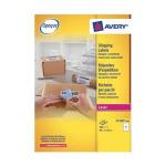 Avery L7169-100 White 400pc(s) self-adhesive label