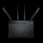 ASUS 4G-AC68U AC1900 Wireless LTE Modem Router, 3G/4Gsupport, Gigabit Ethernet dual-WAN, Parental Control