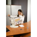 BANTEX TARIFOLD 734300 DESK STAND WITH 10 POCKETS A4 GREY