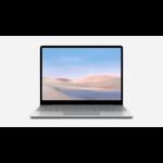 "Microsoft Surface Laptop Go LPDDR4x-SDRAM Notebook 31.6 cm (12.4"") 1536 x 1024 pixels Touchscreen 10th gen Intel® Core™ i5 4 GB 64 GB SSD Wi-Fi 6 (802.11ax) Windows 10 Pro Platinum"