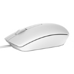 DELL MS116 USB Optical 1000DPI Ambidextrous White mice