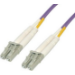 MCL LC/LC, 1m cable de fibra optica Violeta